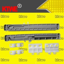 plastic drawer slide soft close buffer