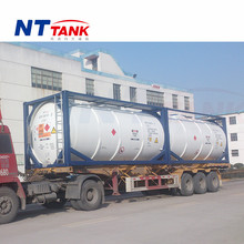 20000L shipping liquid transportation stainless steel jet fuel tank