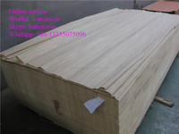 4*8 recon gurjan raw color poplar veneer for india market white color porplar wood veneer