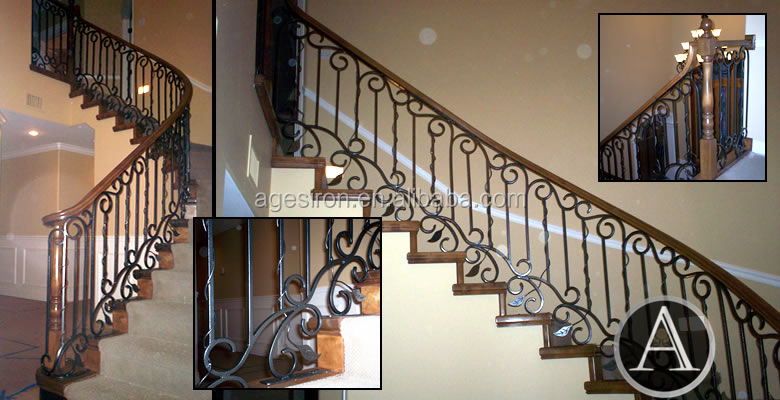 Metal Stair Handrail Wall Mounted, Metal Stair Handrail Wall Mounted  Suppliers And Manufacturers At Alibaba.com