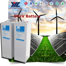 JYC Long Life Guaranty OPzV 2V1500AH Solar/UPS GEL Battery Deep Cycle 12V Tubular Plates OPzV Battery