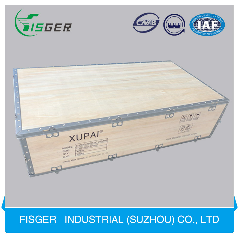 Wholesale Strong Folding wooden Packaging box for Construction Materials