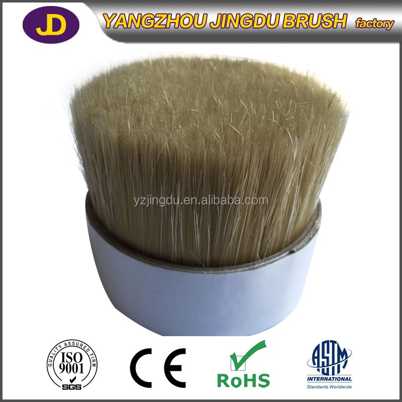 high quality pure chungking pig hair double boiled bristle