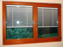 the blind inside double glass window price/ blind inside glass window made in China