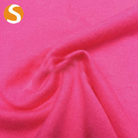 New fashion wholesale single cotton pique knitted jersey fabric