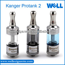e cigarette protank 2013 Newest 100% Glass Protank 2 Atomizer With Bottom Changeable Coil,Kanger Pro tank II