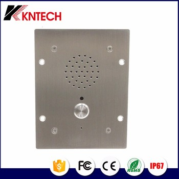 One button wireless intercom for bank Telephone