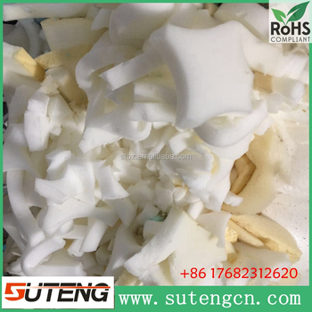 factory price low density multi-colored polyurethane foam scrap pure foam without skin