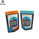 Printed Flat Bottom Recyle Snack Packaging Bags With Top Zipper