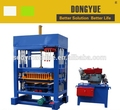 QT4-30 diesel engine paver and hollow block machine for small bussiness,brick making machine