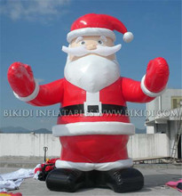 20ft inflatable Christmas Santa Claus balloon, Christmas inflatables hot sale C1032