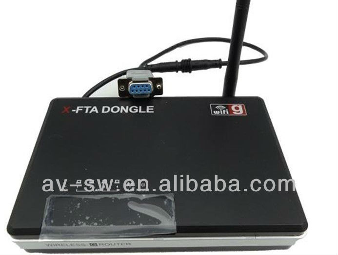 X-FTA DONGLE wireless iks router for FTA receivers like coolsat 6000/captiveworks 800s/pansat 2700/viewsat ultra hd for iks