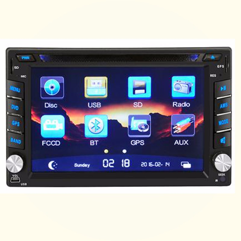 Universal GPS 2Din Car DVD player made in China cheap price hotsale
