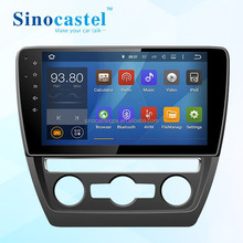 VW Sagitar 2015 Android Car DVD Player With FM Radio Audio Video GPS Bluetooth