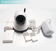 Night infrared 3G WIFI camera security GSM alarm system GSM GPRS Support APP control WIFI camera