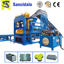 QT4-15S new automatic low price cement brick making machines sale in kenya