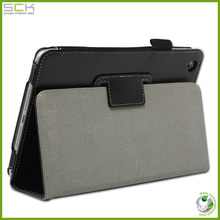 Factory new table leather case for google nexus 7