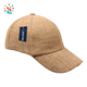 Custom Sport Breathable Hemp hats Blank 6 Panel Hemp Baseball Cap Hat Flexfit Embroidery Private Logo