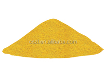 Color pigments yellow iron oxide for plastic and paint