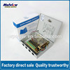 High Quality 9 channels glass fuse output CCTV Power Supply Box