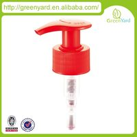 aluminum ring Top quality cosmetic lotion pump liquid spout crimp neck