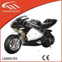 racing 49cc two stroke air cooled super pocket bike with fashion design for hot sale