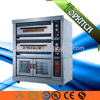 400 Degree Temperature Stone Bottom Mechanism Easy Control Panel Complete Bakery Equipment