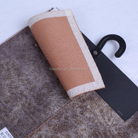 Factory Wholesale Synthetic PVC Leather Fabric