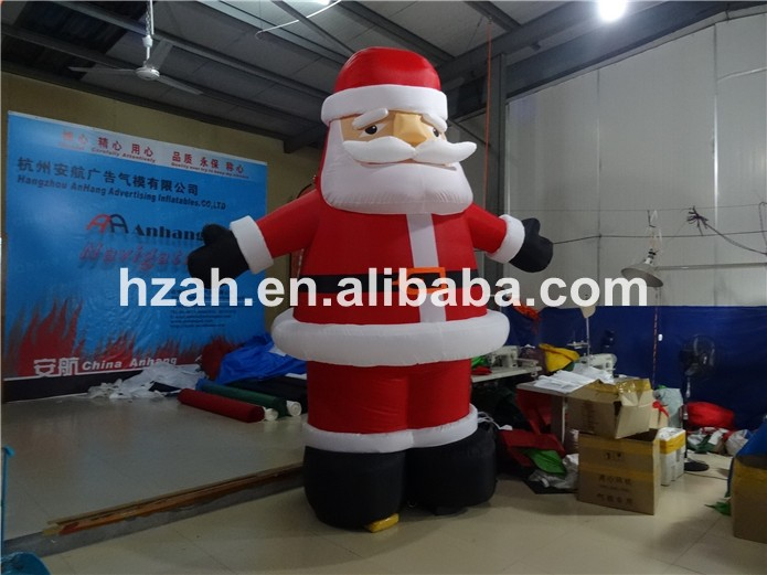 Christmas inflatable village house for decorations