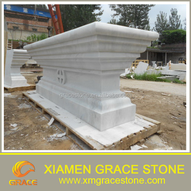 Jazz white elegant marble carving products