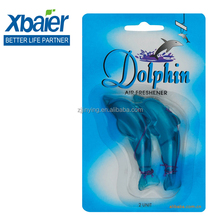 PVC Scent Single Dolohin 15g Hanging Air Freshener For Car