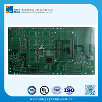 12v 50 amp power, dc regulated power supply Green HAL 6 Multilayer PCB fabricate by china kaige electronics