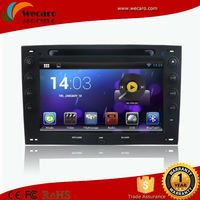 Wecaro Android 4.4 Car Radio Double Din Car Dvd Player For Renault Megane With 3G/WIFI Bluetooth IPOD TV Radio AUX IN
