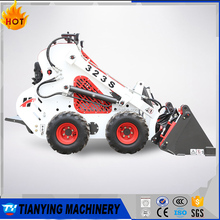 2017 New Wheel Type Mini Skid Steer Loader with Attachments