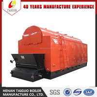 Auomatic Water Feeding Automatic Ash Remove biomass pellet boiler