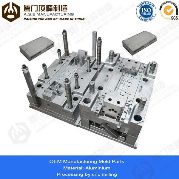 Xiamen A.S.E OEM Manufacturing Mold Parts for tamper evident food containers