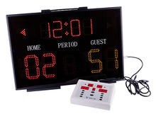 Basketball score board promotion