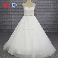 bridal dress Ball Gown Cap Sleeve Beaded Tulle Cheap Price Wholesale African Wedding Dresses