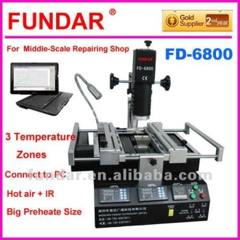 2012 Apr Latest Released Fundar FD-6800 BGA Rework Machine