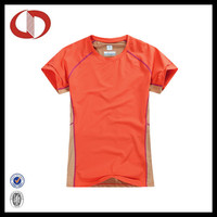100% polyester dry fit running shirts design