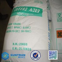 Citric Acid BP98 E330 For Food