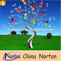 High quality stainless steel tree sculpture NTS-535A