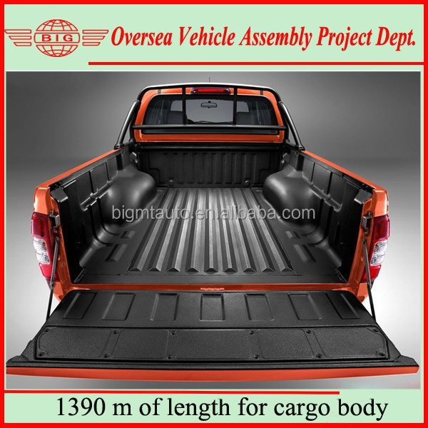 LHD Automobile Diesel 4x4 Double Cabin Pickup Trucks for Sale