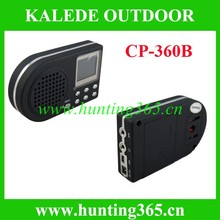 Download voice bird mp3 device quail sounds bird caller cp-360B hunting mp3