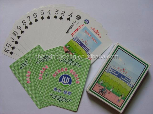 PVC playing cards poker cards