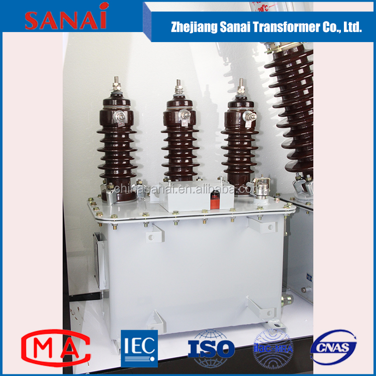 three phase 20kv 24kv oil immersed electric power high voltage transformer
