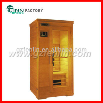1 person use with ceramic or carbon heater Far Infrared Sauna Room
