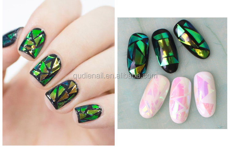 High Quality diy decoration custom nail art stickers custom nail art paper stickers