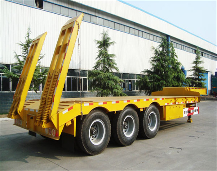 Winsense Brand Cheap Heavy Haul 100 tons Tri Axle Semi Lowboy Trailer for Sale