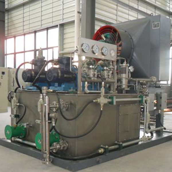 Forced Lubrication System for Process Pump